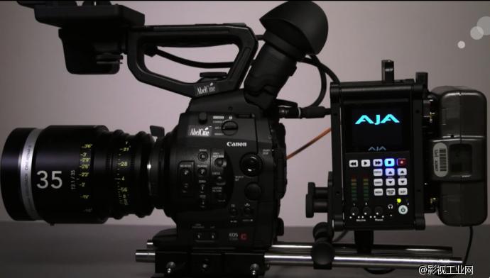EOS C500 4K RAW AJA Ki Pro Quad 设置视频演示