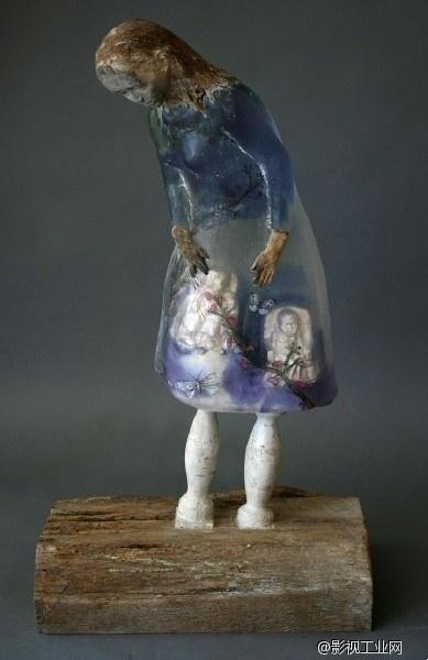 出窍的灵魂和光陆怪离的异象世界---来自玻璃艺术家christina bothwell