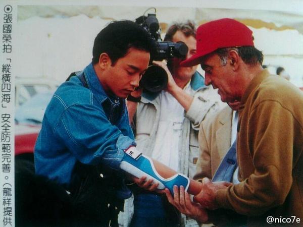 镜头后的张国荣,追看电影人的电影人生。