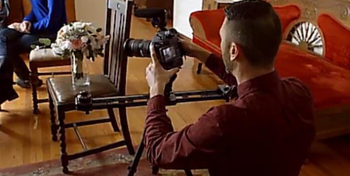 【在线教程】国外婚礼怎么拍?之单手手持稳定器拍摄。