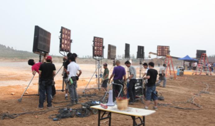 《画皮2》摄影系列文章——黄岳泰谈电影《画皮2》中攻城大战的光线创作