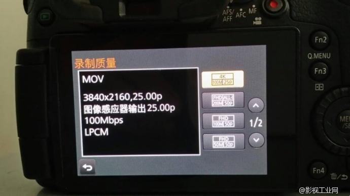 国行GH4开箱以及4K-96fps-ISO6400极限测试