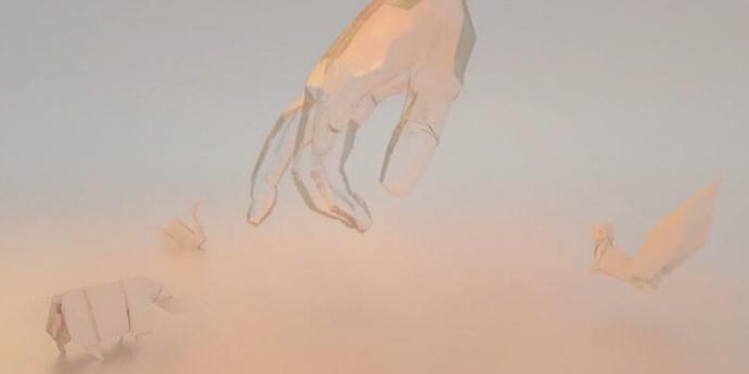 创意短片《Dream life of paper》,折纸和CGI动画的完美结合