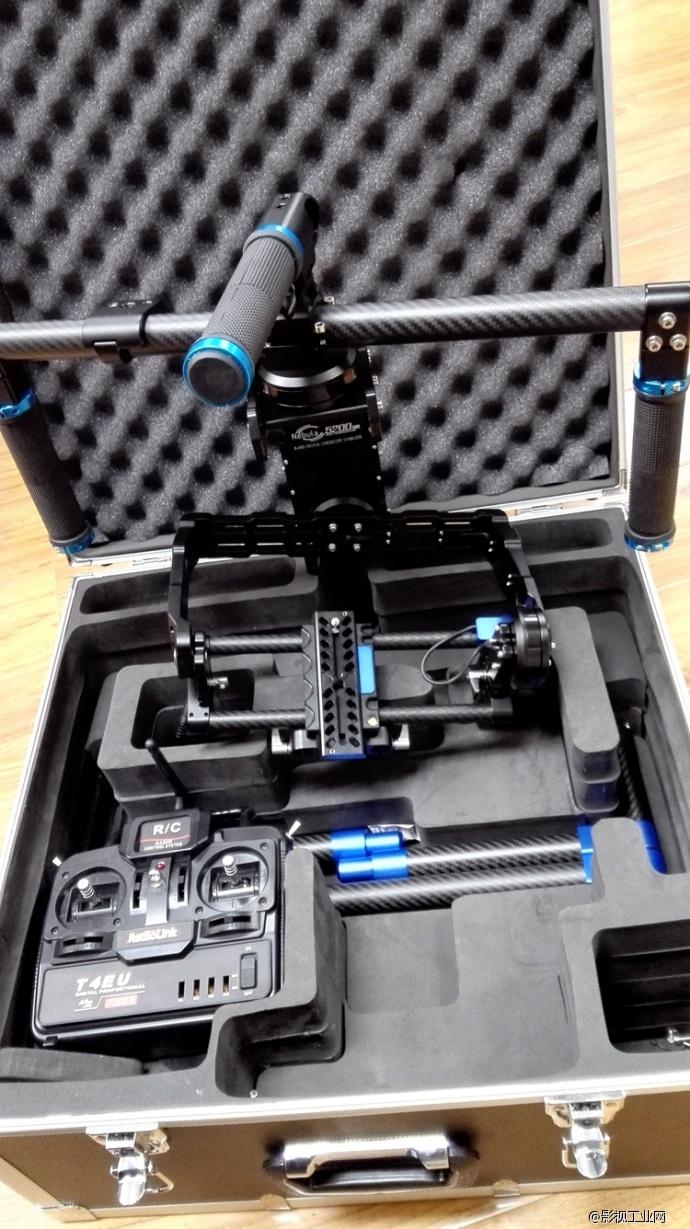 Nebula星云 5200Pro手持三轴陀螺稳定器到货啦