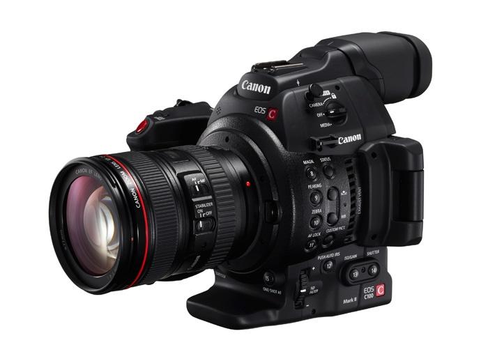【新机@EOS C100 Mark II】佳能新EOS C100 Mark II高清摄像机提升画质及基础性能