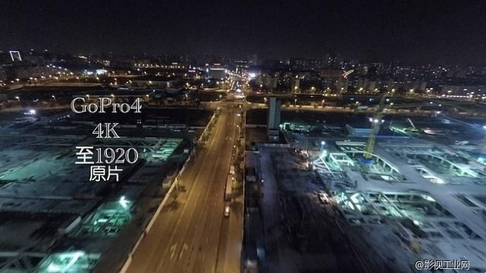 GoPro HERO4 夜景4K 航拍测试-=FB-I=-