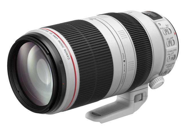 佳能发布EF 100-400mm f/4.5-5.6L IS II USM远摄变焦镜头