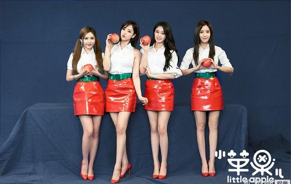 韩版小苹果MV《Little Apple》