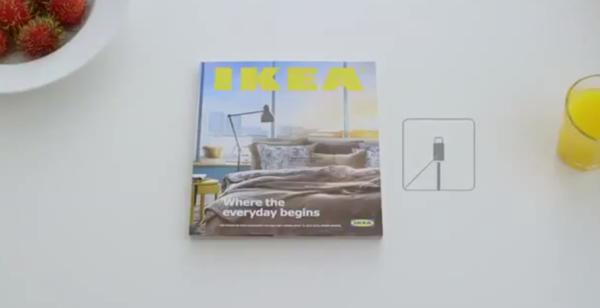 仿 iPhone 式 IKEA 广告︰328 页高清影像、绝不会 Lag