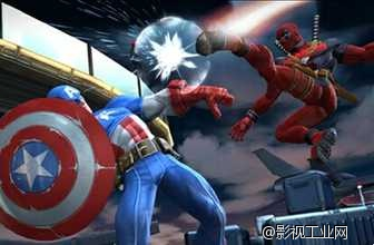 索尼蜘蛛侠亮相漫威《美队3》?