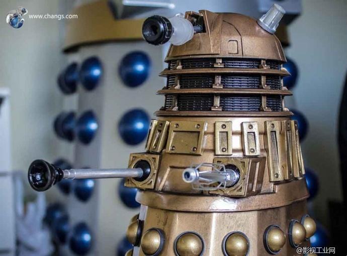 宇宙最强种族!用3D打印制作一个属于自己的Dalek吧!