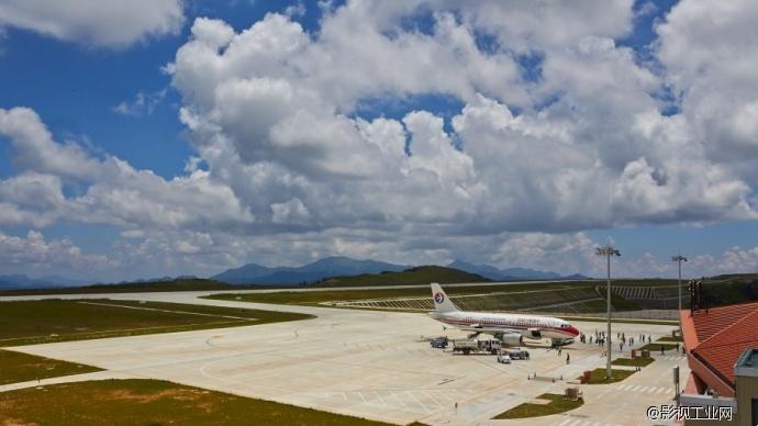 【松下作品交流会】【GH4】GH4延时拍摄神农架机场