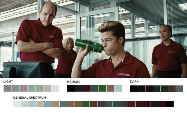 玩弄色彩于股掌之中的5种电影配色方案