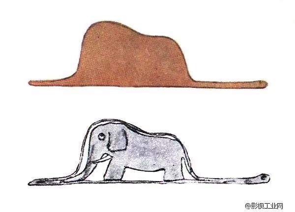 6岁的时候,我画了自己的一号作品,一条巨蟒消化着一头大象,可大人们说