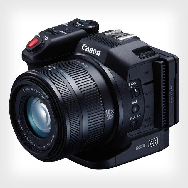 佳能发布4K新概念数码摄像机新品XC10
