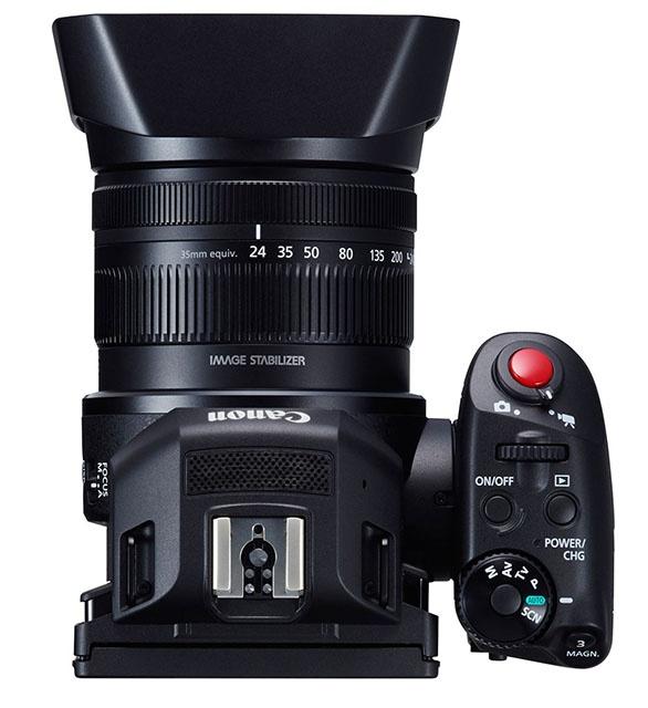 相机?摄像机?傻傻分不清楚 佳能4K新概念摄像机XC10外观欣赏