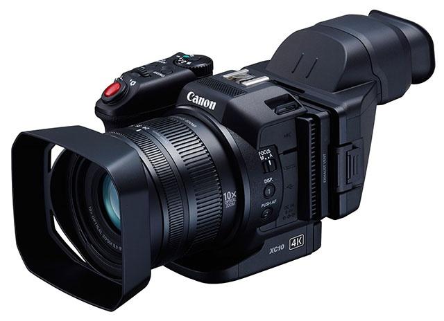 4K小黑块 佳能XC10 4K相机海外实拍视频展示