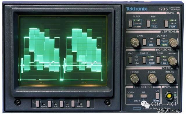 如何阅读波形监视器和矢量示波器