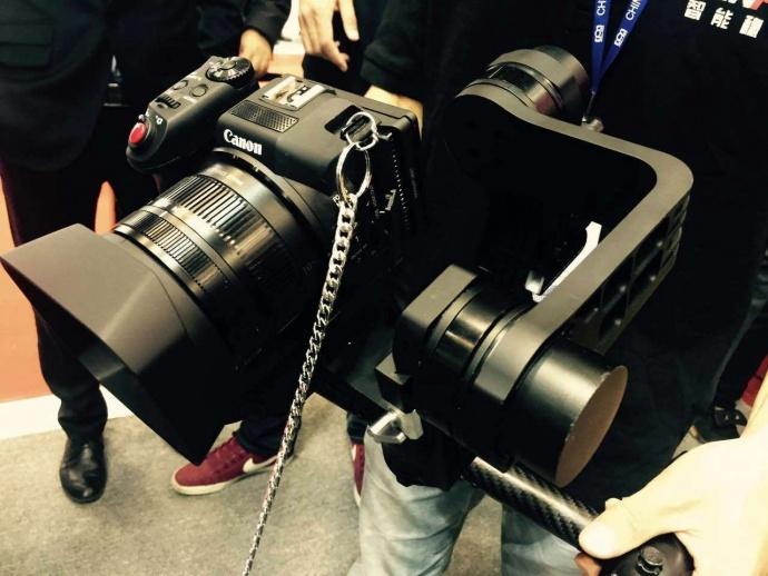 【MD2 P&E 2015】新品也不放过,MD2首次搭载佳能新款4K相机XC10