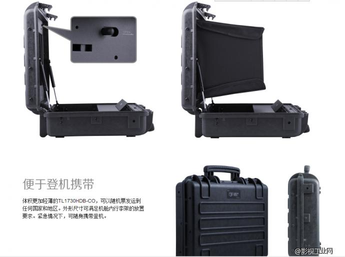 导演监视器的终极选择--瑞鸽凯瑞昂17寸箱载调色监视器 作者:项中华