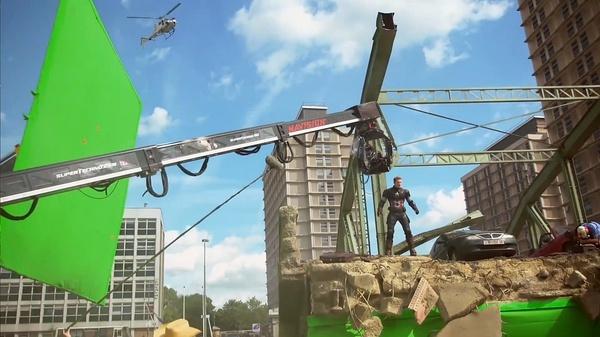 《复仇者联盟2:奥创纪元》特效拍摄现场详解以及概念设计图分享