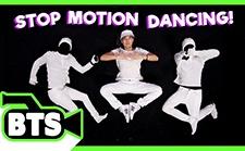 太炫酷了!人不移动,4000张图片组成的定格动画舞蹈