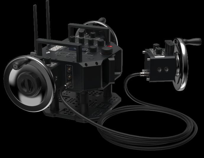 NAB2018   大疆创新发布DJI大师摇轮及DJI体感控制器专业版