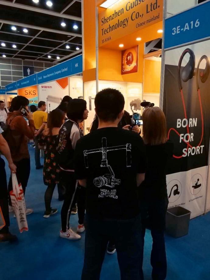 魔爪Mini-MI现场测评 | 香港国际春季电子产品展