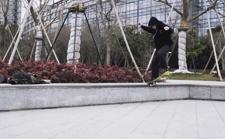案例 | 在城市中撒野!这位摄影发烧友用X-H1捕捉滑板少年飞驰瞬间