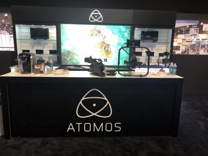 Atomos x 魔爪丨携手亮相NAB 面向全球市场