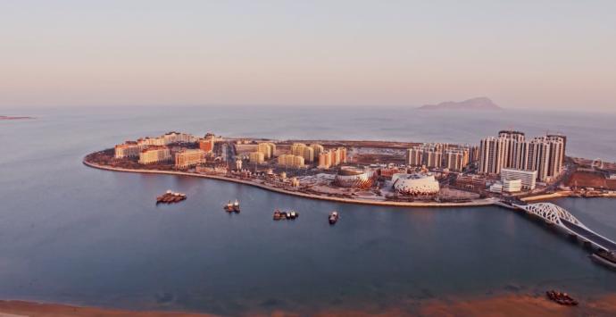 大疆创新联袂万达影视产业园呈现最美东方影都