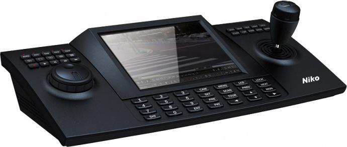尼科8寸HDMI/SDI/VGA输入高清会议摄像机控制键盘