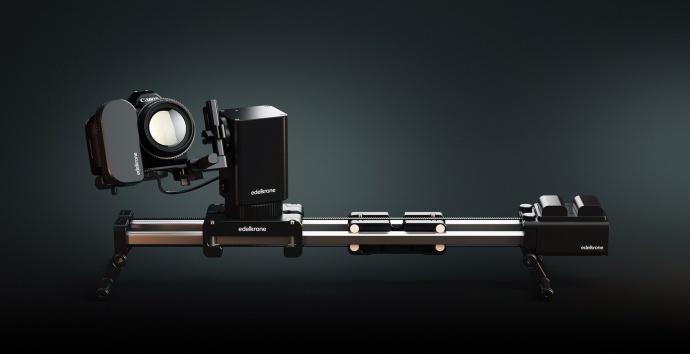 土耳其Edelkrone SliderPLUS X 5D4 GH5 A7R2 A9 A7S2 A73D850增距全能电控桌面滑轨