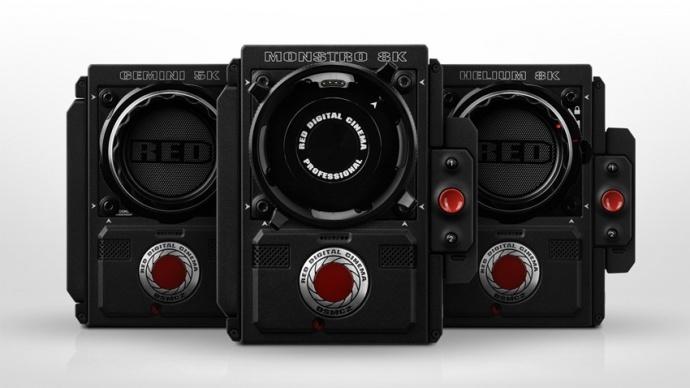 RED公司宣布简化产品线:DSMC2摄影机主机配置三种不同的感光器选择