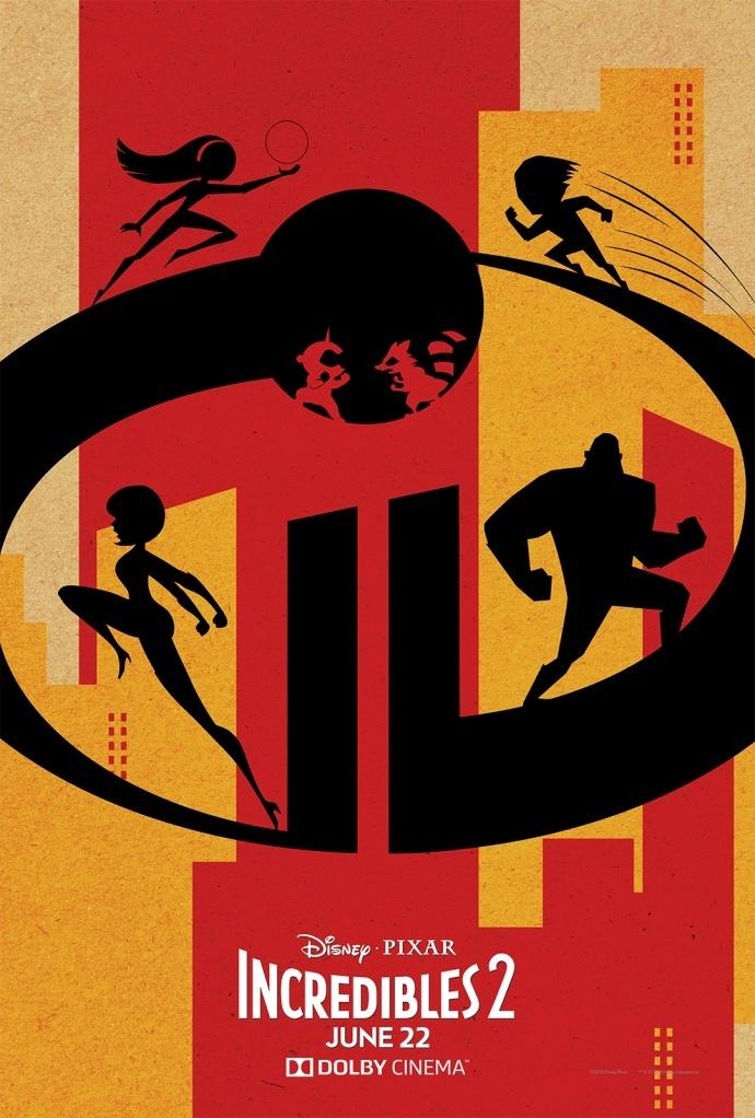 《超人总动员2》曝杜比影院版海报 十四年磨一剑剧情视听全面升级