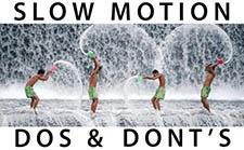 视频告诉你拍摄慢动作 SLOW MOTION 应该注意的事项
