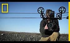 国家地理团队怎么在极度严寒的环境下开展延时摄影创作