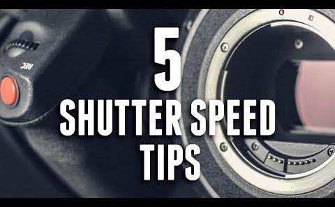 相机拍视频5个改变快门速度创意技巧