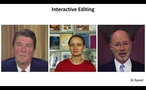 一项非常可怕的 Deep Video Portraits 换脸技术