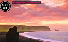 冰岛--午夜阳光,大自然赋予神秘无穷力量