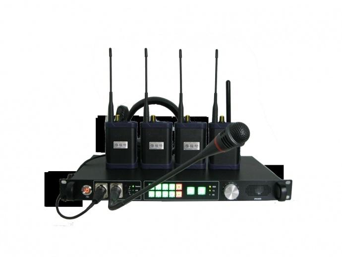 惟侒特MPTY-1808无线八路同时在线对讲通话 无线内部通话系统 多路同时通话 免按键 分组控制分站与分站可单独通话 适用大型演出活动舞台灯光摄像现场指挥协调