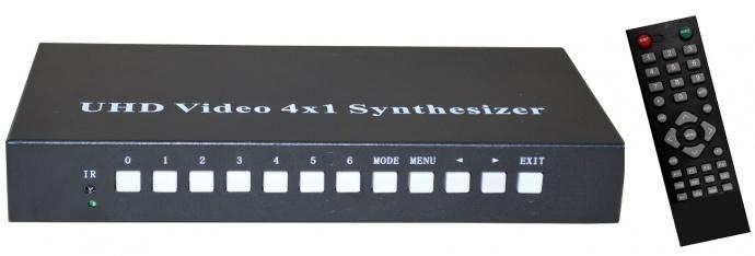 UHD超高清4K四画面分割器NK-4K5004HDMIQ-KVM