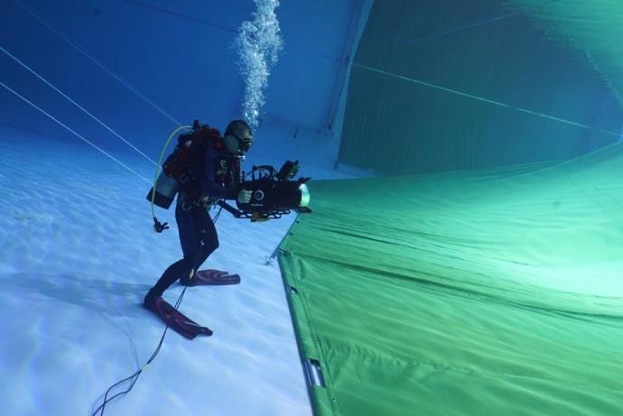 """水下特种拍摄的""""奇妙物语"""""""