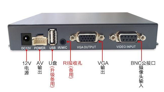 新一代同轴高清AHD四画面分割器NK-AHDR4004CQ带录像