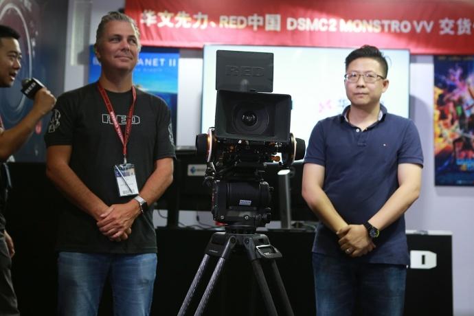 BIRTV 交货:华文先力 x RED 中国 10台 MONSTRO VV 交货仪式