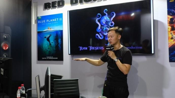 """BIRTV 讲座:孙逊与 RED 的水下""""奇幻""""之旅"""