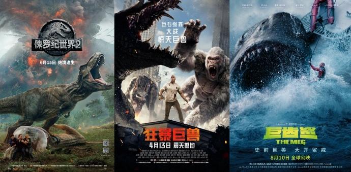 怪兽来袭!从《狂暴巨兽》到《巨齿鲨》,怪兽电影为啥经久不衰?丨画外hoWide