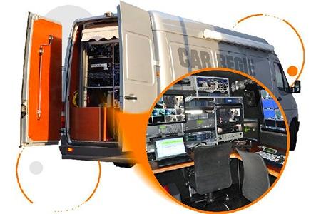 Diblue-转播车和飞行箱单元