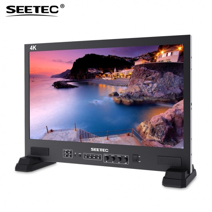 SEETEC 视瑞特FS215-S4K 专业广播级演播室21.5寸监视器 3G-SDI 4K HDMI专业调色监视器 UMD动态源名和Text-TALLY显示