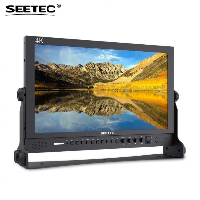 SEETEC视瑞特P173-9HSD 演播室非编系统专用17.3寸3G-SDI、HDMI 4K广播级摄影导演监视器 桌面式专业监视器 广电系统集成专用广播级监视器